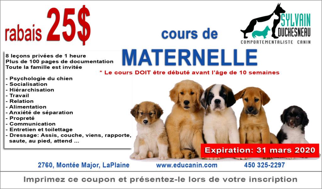 Rabais-Maternelle
